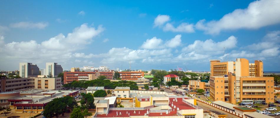 Cotonou- Le quartier administratif