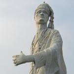 La statue du roi Toffa à Porto-Novo