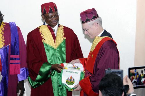 17- Le Président Herman VAN ROMPUY élevé au Grade de Docteur Honoris Causa de l'Université d'Abomey-Calavi