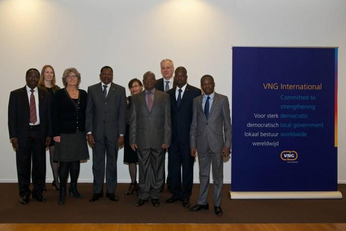 La délégation béninoise accueillie au siège de VNG International