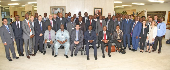 Photo de famille de la 19ème réunion du COS Coton