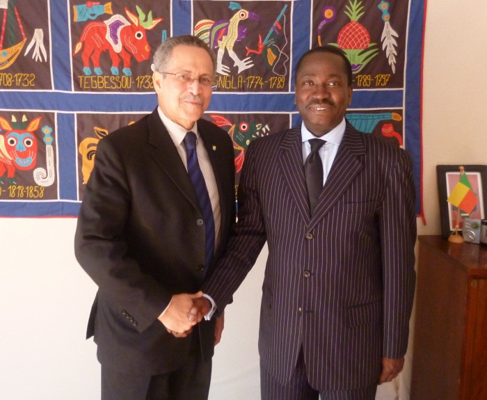 Photo avec Amb_Gomes 15 mai 2015
