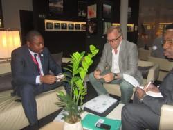 Entretien du Ministre d'Etat avec M. Marc Moons, investisseur belge
