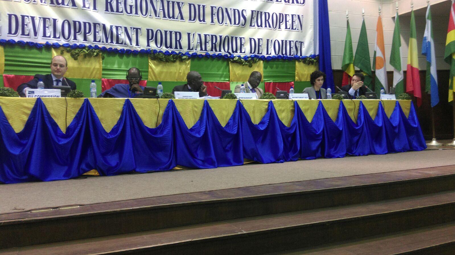 Réunion des ON et OR de Cotonou