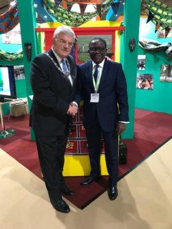 L'Ambassadeur et le maire d'Utrecht