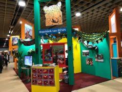 Le stand du Bénin sponsorisé par le Consul du Bénin à La Haye